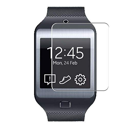 Vaxson 3 Unidades Protector de Pantalla, compatible con Samsung Galaxy Gear 2 Neo [No Vidrio Templado] TPU Película Protectora Reloj Inteligente Film Guard Nueva Versión