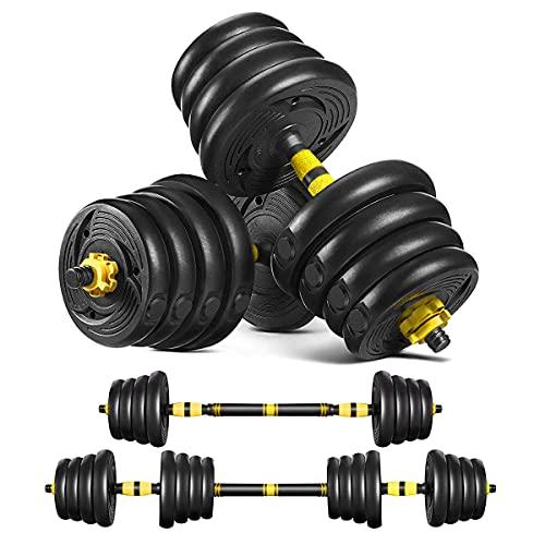 Tespon Adjustable Fitness Dumbbells Set