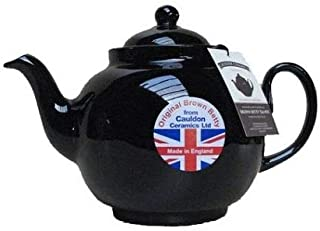 6 Cup Brown Betty Teapot in Rockingham Brown