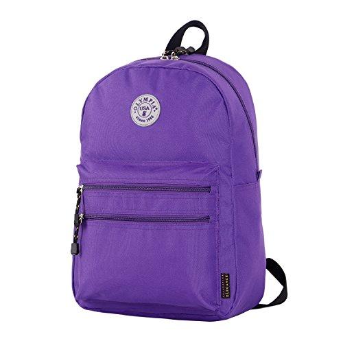 Olympia Princeton 45,7cm Rucksack, violett (violett) - BP-1010