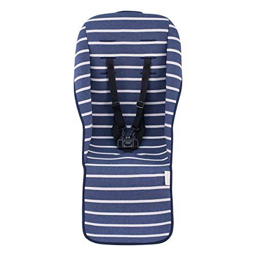 JANABEBE Colchoneta para UPPABABY vista y cruz (Sailor Stripes)