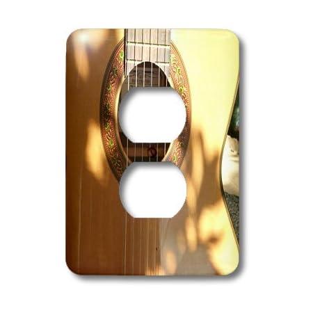 3drose Llc Lsp 100851 6 Closeup Of Acoustic Guitar 2 Plug Outlet Cover Outlet Plates