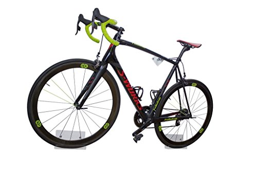 trelixx Fahrradwandhalterung Rennrad   Acrylglas   platzsparende Fahrradaufbewahrung   großartiges Design   leichte Montage   gelasert   perfekt geeignet für Ihr Rennrad