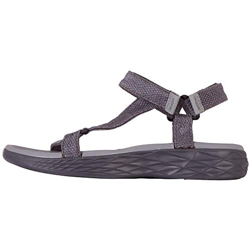 Kappa Damen MORTARA Outdoor Sandals, Grey, 37 EU