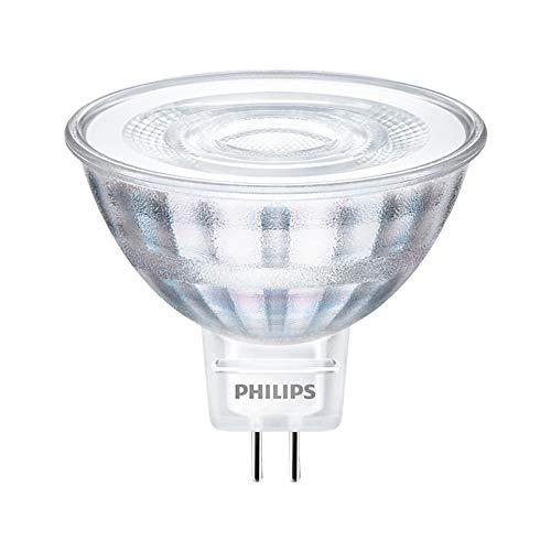 Philips CorePro LED 71065400 5W G5.3 A+ Blanco frío - Lámpara LED (Blanco frío, Blanco, A+, 6 kWh, 5,1 cm, 4,6 cm)