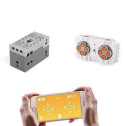 PEXL Power Functions Set für Technik Autos, Lithium-Akku Box Fernbedienung Kompatibel mit Lego Technic