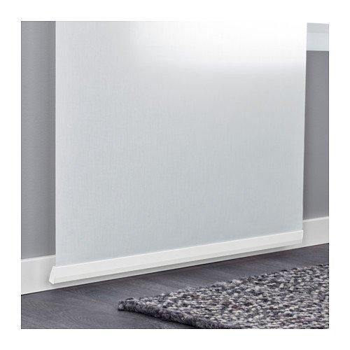 Ikea Panel curtain holder, white 1826.29295.2230