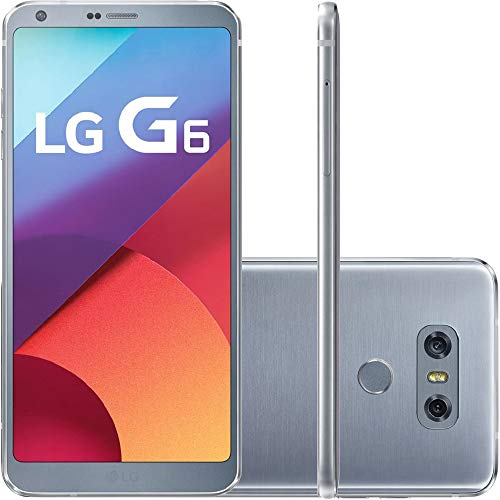LG G6 Smartphone (32 GB interner Speicher, 4 GB RAM, 13 MP Kamera, Android) Silber
