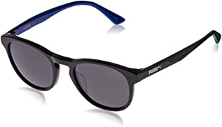 Puma Boy's PJ0023S PJ0023S-005 48 Rectangular Sunglasses, Blue, 48 mm