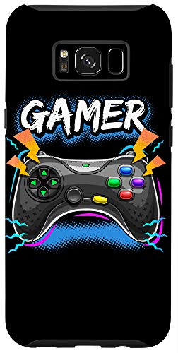 Galaxy S8+ Awesome Gamer Video Game Controller Boys Gaming Gift Case