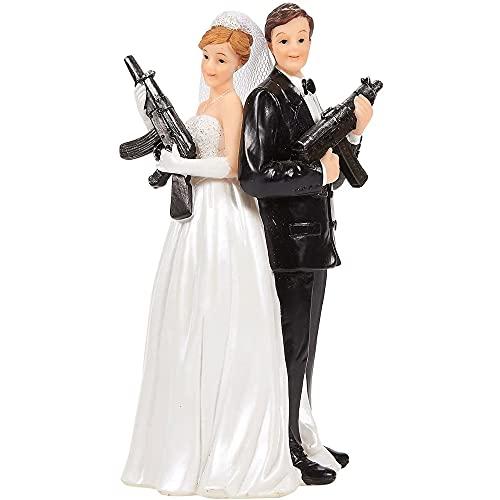 Juvale Decoración para tarta de boda...