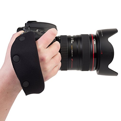 OP/TECH E-Z - Correa de Mano para cámara de Fotos, Color Negro