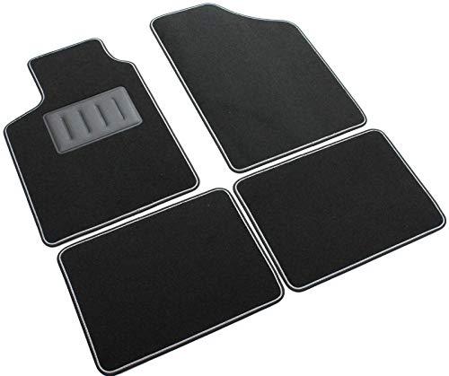 SPRINT03700 Alfombrillas de coche a medida en moqueta antideslizante negra