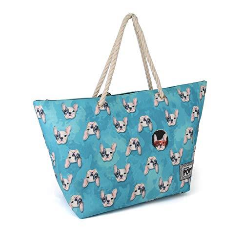 Oh My Pop! Doggy-Sunny - Bolsa de Tela, Multicolor, 60 cm