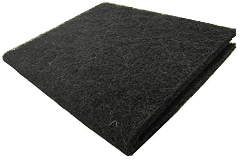 EA Premium Carbon Infused Filter Pad 18x10 - Cut to Fit for Aquariums and Pond