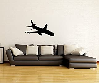 Boeing KC-46 Pegasus US Air Force Airplane Silhouette Vinyl Wall Decal Sticker