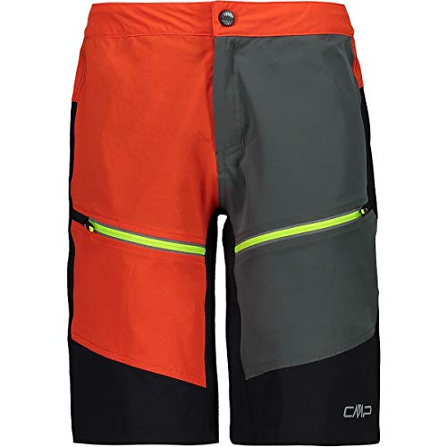 CMP Jungen Shorts Stretch Con Tecnologia Dry Function Badehose, Rot (Flame), 176