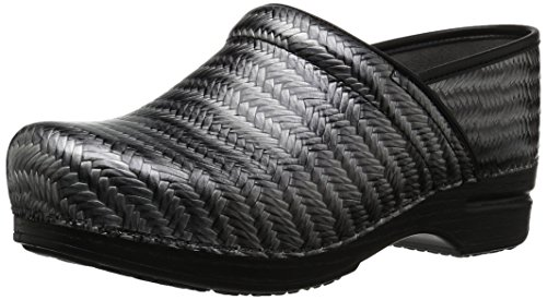 Dansko Women's Pro XP Grey Herringbone Clog 10.5-11 M US