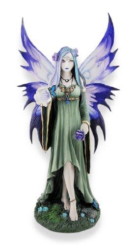 Veronese Design Anne Stokes `Mystic Aura` Fantasy Fairy Statue