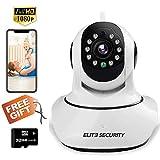 ELITE SECURITY Camera Indoor Home Baby/Pet Monitor Wifi...