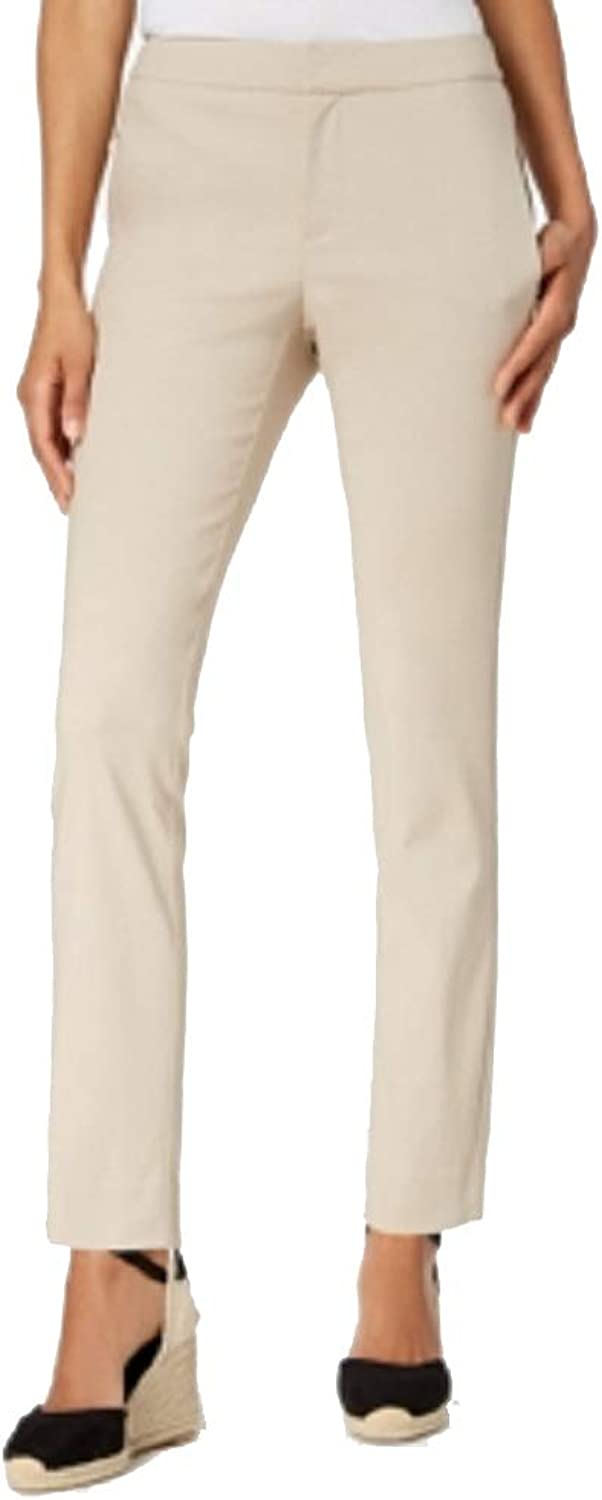 Charter Club Twill Slim Ankle Pants