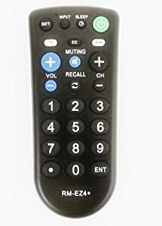 Nettch Sony RM-EZ4 2-Device Universal Remote with Big Buttons