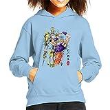 Cloud City 7 Jean Pierre Polnareff Watercolour Jojos Bizarre Adventure Kid's Hooded Sweatshirt