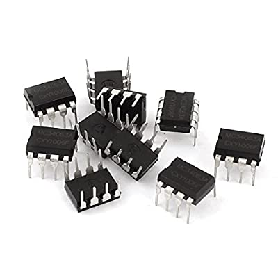 10 Pcs MC34063A DIP-8 DC-DC Voltage Converter Control Circuits IC 1.5A