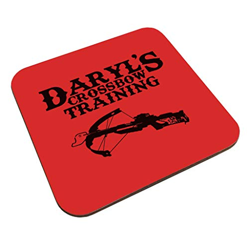 Daryls Crossbow Training Walking Dead Coaster