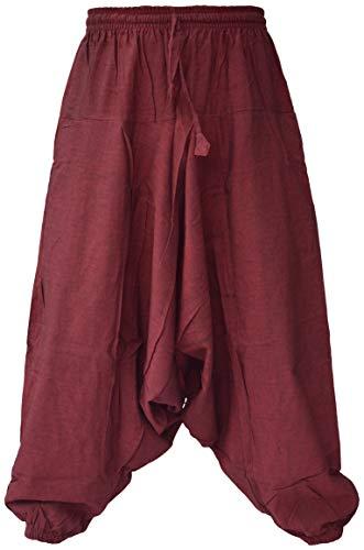 Pantalon de ninja Little Kathmandu pour hommes - Rouge - Medium