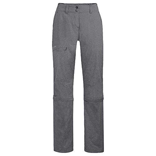 VAUDE Skomer Capri Zo II Pantalon pour Femme Noir Taille 38