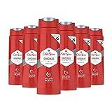 Old Spice Original Duschgel, 6er Pack (6 x 250 ml), Showergel Mit Langanhaltendem Duft Für Männer,...