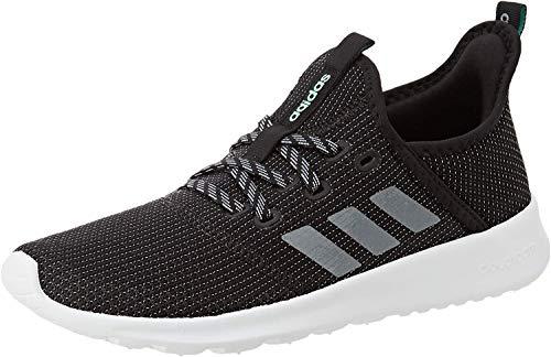 adidas Damen Cloudfoam Pure Sneaker, Core Black/Grey/Grey, 39 1/3 EU