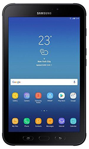 Samsung Galaxy Tab Active 2 (LTE) - Tablet rugerizada de 8' (1280 x 800 WXGA, cámara 8 MP, 3 GB RAM, 16 GB ROM Ampliable 256 GB, batería 4450 mAh extraíble, Android 9) - Negro [Versión Española]