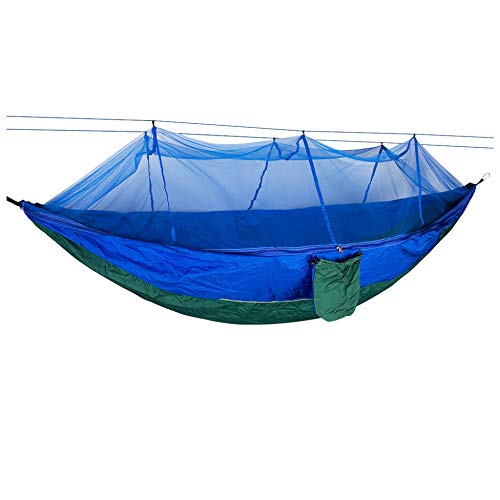 OPZZXNF Outdoor Camping Parachute Hammock Mosquito Net Double Leisure Sleeping Hanging Chair Tent Travel Survival Army