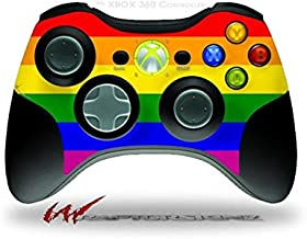 XBOX 360 Wireless Controller Decal Style Skin - Rainbow Stripes (CONTROLLER NOT INCLUDED)
