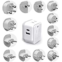 Ceptics International Travel Plug Adapter Set (Includes 13 Type Swadapt Attachments)