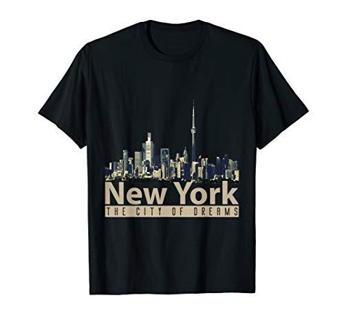 New York- Stadt der Träume- USA-T-Shirt