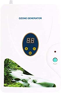 ZJchao Ozonizador doméstico Digital generador de ozono ionizador purificador de Aire