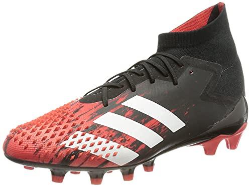 Adidas Predator MUTATOR 20.1 AG, Zapatillas Deportivas Fútbol Hombre, Multicolor Core Black FTWR White Active, 39 1/3 EU