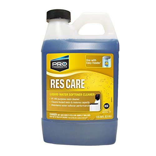 Res Care All-Purpose Water Softener Liquid Refill – Cleans Fouled Resin – Restores Softener Efficiency – Restores Resin Capacity – Extends Water Softener Life – Removes Contaminants