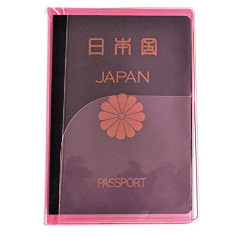 JTB商事 パスポートカバー クリア 日本製 ピンク 512001010