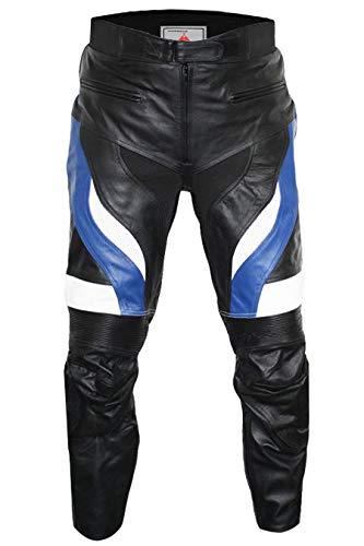 German Wear, Motorradhose Motorrad Biker Racing Lederhose, Größe:48
