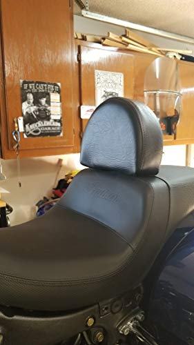 Grasshopper Limited Drivers Backrest for Indian Challenger Motorcycle American Made