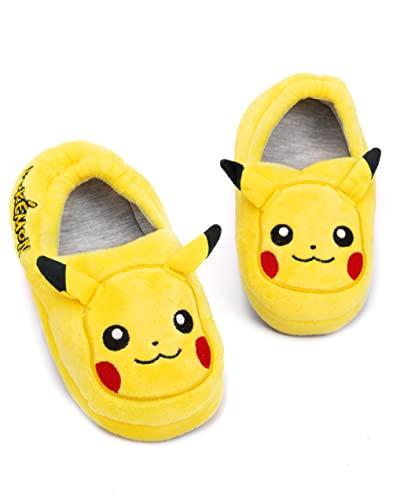 Kids' Pikachu Slippers