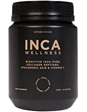 Inca Organics Pure Collagen Powder + Hyaluronic Acid & Vitamin C, White