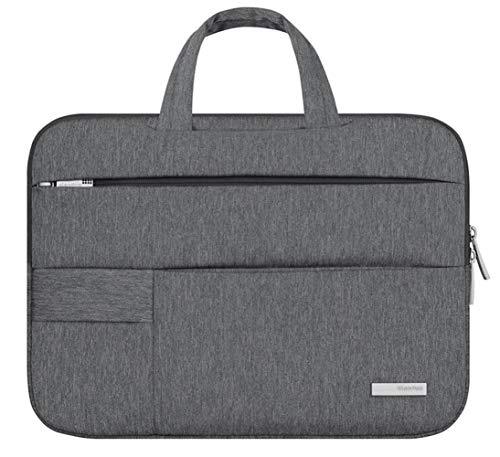 HoneyJuan Professionelle Laptop-Tasche Aktentasche Laptop-Beutel for Handtaschen-Computer 11 14 15.6 Zoll, MacBook Air Pro Notebook-Hülle 15,6 Bussiness Tablet Tragetasche