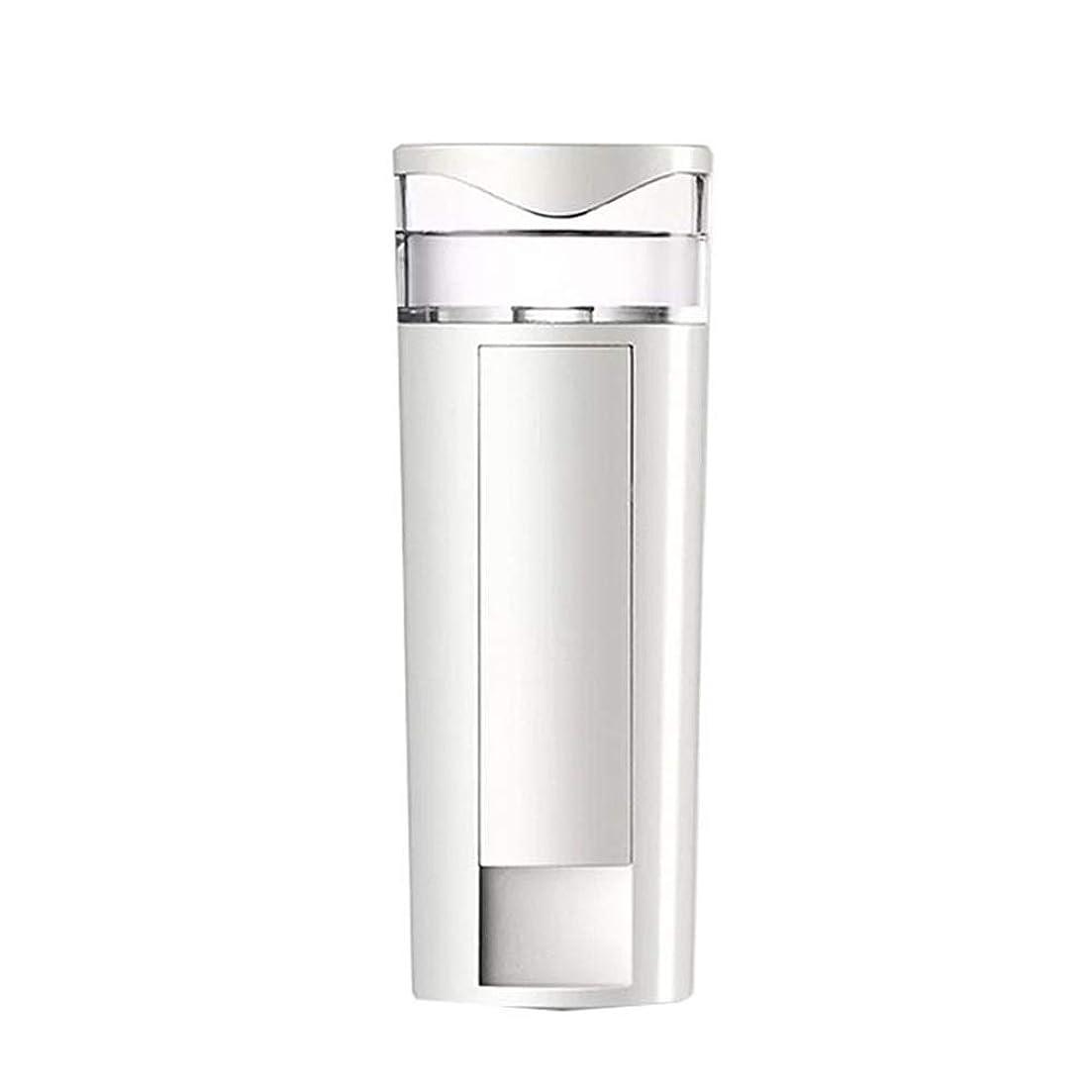 手足圧倒的浸すZXF 携帯用ナノスプレーの水道メーターの顔の充満表面コールドスプレー機械スプレーヤーのABS物質的な白 滑らかである