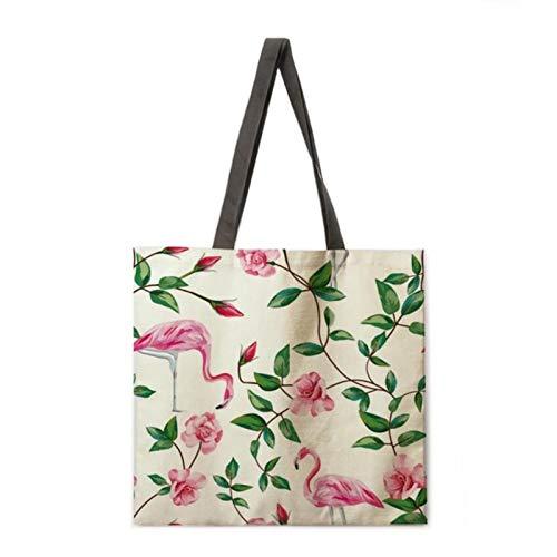 keke Folding shopping bag green plants lady shoulder bag female leisure handbag outdoor beach bag female tote bag,1