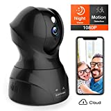 Security Camera 1080P WiFi Dog Pet Camera - KAMTRON Wireless Indoor...